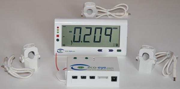Měřič spotřeby Eco-eye Smart třífázový